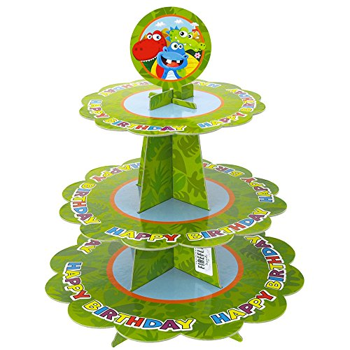 Homeford FMC0000000PC252F Cupcake Stand 14quot Green