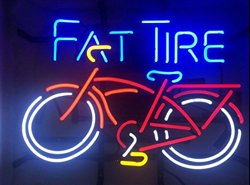 Fat Tire Sign 20