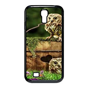 Owl Use Your Own Image Phone Case for SamSung Galaxy S4 I9500,customized case cover ygtg526538