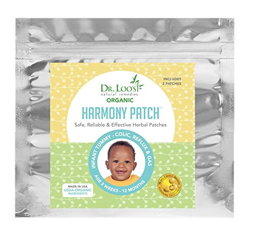 New! Organic, Safe, Effective Herbal 'Sticker' Patches for Colic, Reflux, Gas Infants 2 weeks-12 Months USDA Organic Ingredients Apply onto Belly.9 Patches=$2.77/ea.