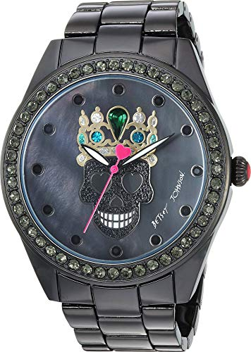 Betsey Johnson Womens 37BJ00131-118 – Kitty Princess Watch