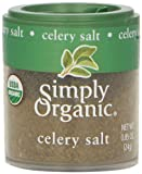 Simply Organic Celery Salt ORGANIC 0.85 oz. Mini Spice - 3PC