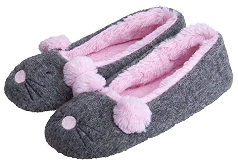 Amazoncom Womens Cute Soft Comfortable House Ballerina Slippers