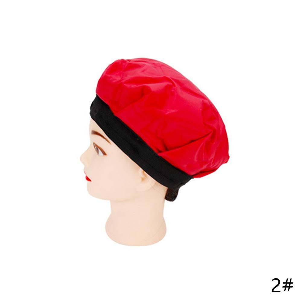 Gracefulvara Hair Care Nutrition Thermal Cold Treatments Hat Styling Tool Black