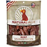 Loving Pets Natural Value All Natural Soft Chew Beef Sausages For Dogs, 13-Ounce Review