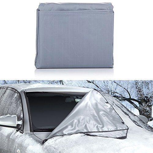(Weathershield Windshield Wrap - Car Snow Cover (66