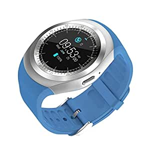 pcjob SmartWatch, Y1 Bluetooth Smart Watch para Android, redondo ...