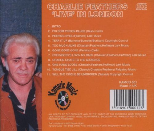 NEW Charlie Feathers - Live In London (CD) by Feathers, Charlie