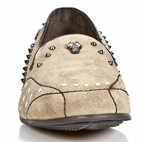 New Rock Sleepers Beige Chaussons M.8416-S4