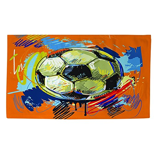 Thumbprintz Soccer Goal Rug (4' x 6') by Thumbprintz