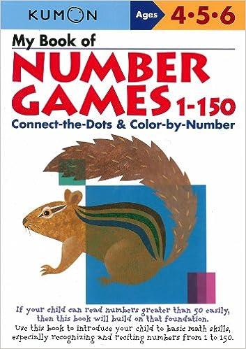 My Book of Number Games, 1-150 (Kumon Workbooks): Kumon ...