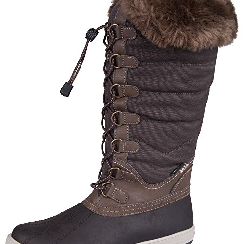 9bd0dc68f38 Galleon - Mountain Warehouse Alto IsoGrip Womens Waterproof Faux Fur ...