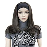 Lydell Long Straight Wave Headband Synthetic Wigs (#6 Chestnut Brown)