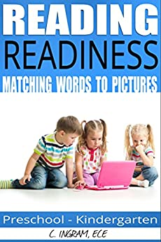 Reading Readiness, Matching Words Images: Early Childhood Education by [Ingram ECE, C]