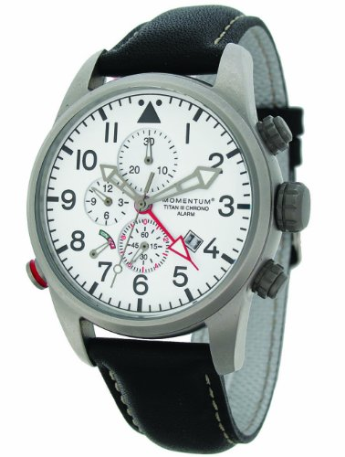 Momentum Men's 1M-SP32W2B Titan III Analog watch alarm and chronograph Watch