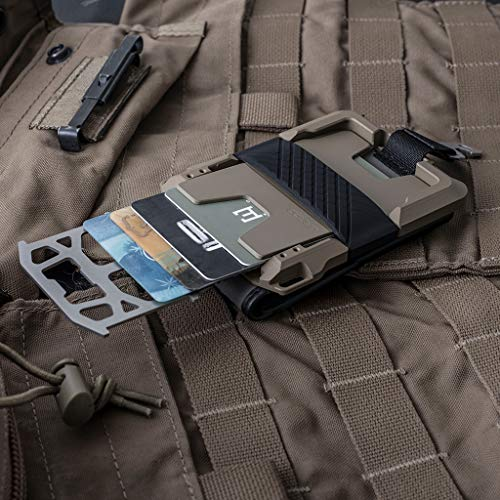 Dango M1 Maverick Spec-Ops Bifold Wallet - Black DTEX/Desert Sand - Made in USA