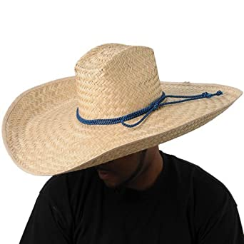 Amazon.com  Wide Brim Cowboy Hat  Clothing 32231949d8d