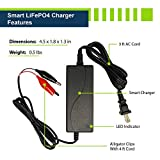 ExpertPower 12V Smart Charger for Lithium LiFePO4
