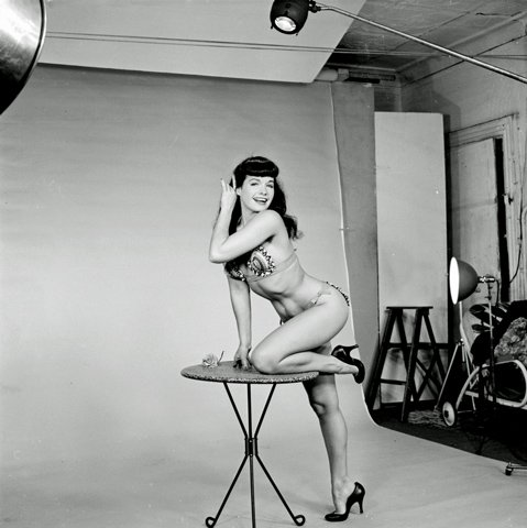 - Betty Page Photo Print 13x19