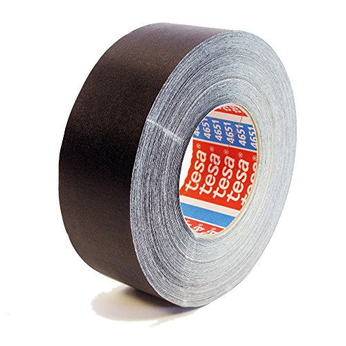 - Tesa 4651 Natural Rubber Performance Acrylic-Coated Cloth Tape, 55 yard Length, 1