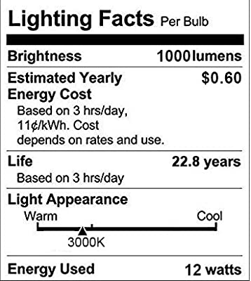 Dusk to Dawn Light Bulb, Aukora Smart Sensor LED Light Bulb, 12W (100-Watt Equivalent), 3000Kelvin, E26 Base Automatic On/Off Led Bulb Outdoor/Indoor for Porch Garage Patio Garden(Warm White, 3 Pack)