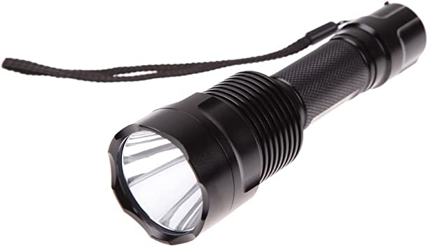 Rechargeable C8 Flashlight CREE XM L T6 LED 1000 Lumen Torch For Riding Camping