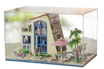 Awesome Haus Minihaus Möbel Kit Dekoration Haus Miniatur Handwerk Holz Puppenhaus  Mit Möbeln