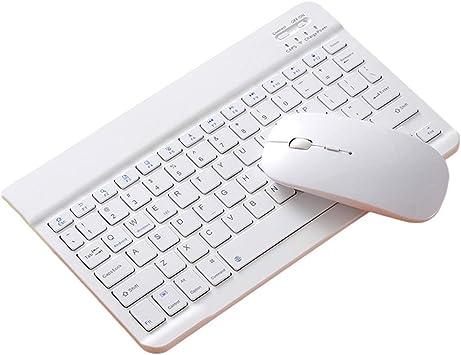 "kokiya Bluetooth 10 ""Teclado ratón Peine Set Recargable para ..."