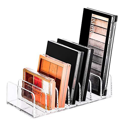 FOGE Bathroom Countertop Eyeshadow Palette Organizer – Vanities,Eyeshadow Palettes, Contour Kits, Blush, Face Powder,7…