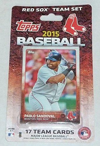 2015 Topps Boston Red Sox Baseball Team Set