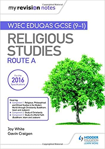Religion and human experience revision guide for wjec gcse.