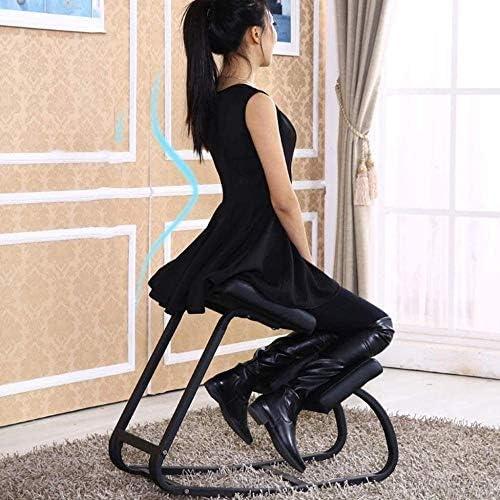 Genoux Président étudiant Correction Chaise de bureau Salon Salon Genoux Knee Siège réglable Chaise de bureau Genoux Tabouret Chaise à genoux
