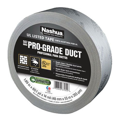 Nashua 557 Premium Grade Flex Duct Tape: 2 in. x 60 yds. -