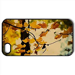 Rise And Shine Watercolor style Cover iPhone 4 and 4S Case (Autumn Watercolor style Cover iPhone 4 and 4S Case)