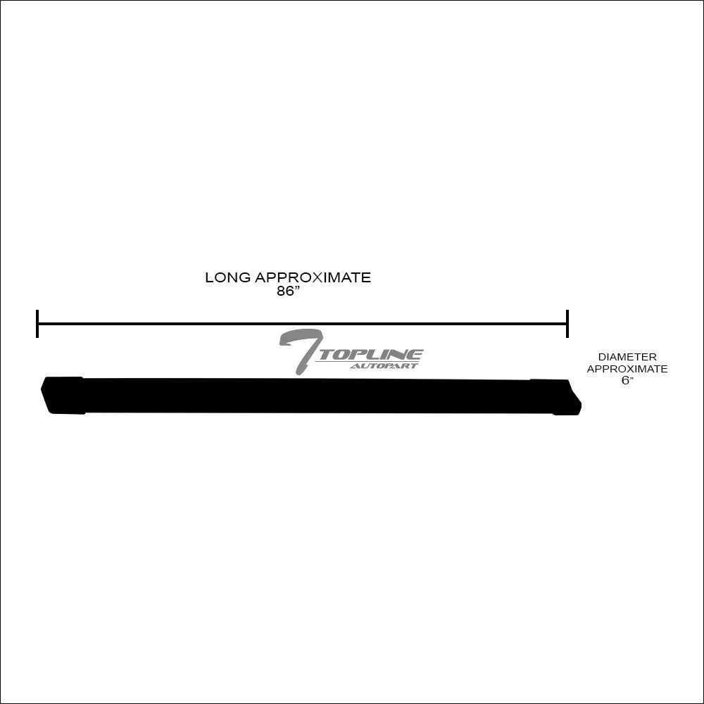 Cab F450 Crew F350 F550 Superduty SuperCrew Topline Autopart 6 Factory OE Rectangular Style Silver Aluminum Side Step Rail Running Boards jz For 15-19 Ford F150 ; 17-19 F250
