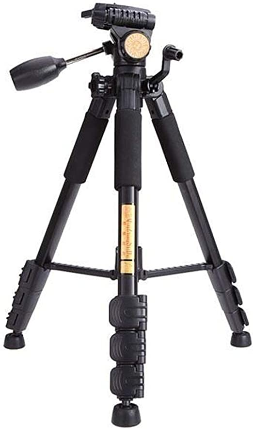 Color : Photo Color, Size : One Size Canyixiu-tumi Portable Tripod with Rocker Arm Ball Head for SLR Camera