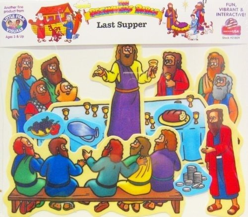 Beginners Bible The Last Supper Flannelboard Figures - Pre-Cut