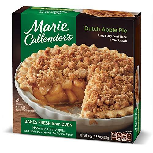 - Marie Callender's Dutch Apple Pie Frozen Dessert, 38 Ounce