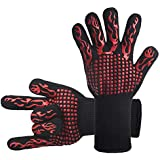 DsFiyeng BBQ Gloves Grill Gloves Oven Gloves 932°F Cooking, Grilling, Baking- Grill & Kitchen Accessories