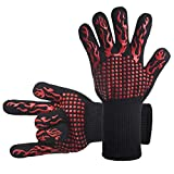 DsFiyeng BBQ Gloves Grill Gloves Oven Gloves 932°F for Cooking, Grilling, Baking- Grill & Kitchen Accessories
