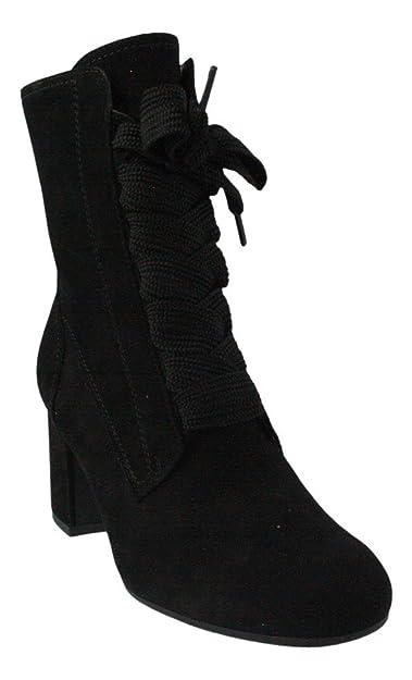 Paul Green Bottes pour Femme - Noir - Noir sldLeQ4oHA,