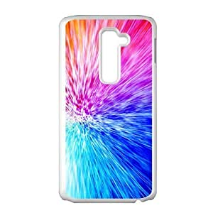 Artistic aesthetic fire and sea fashion phone case for LG G2