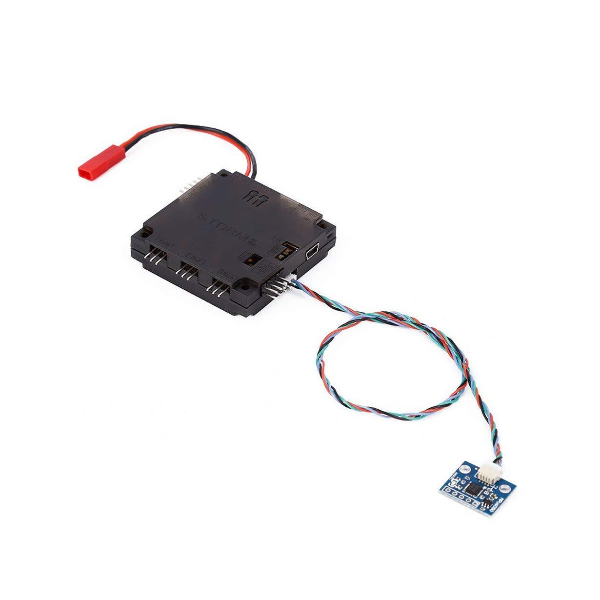 Controlador de cardá n Strom32 de 3 ejes DRV8313, Storm32 BGC 32Bit Controlador de cardá n sin escobillas de 3 ejes V1.31 DRV8313 Controlador de motor Unitedheart