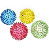 Edushape See-Me Sensory Balls, Translucent, 4 Count, Assorted Colors