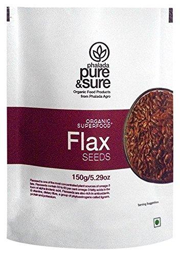 Pure & Sure Organic Flax Seeds, 150g