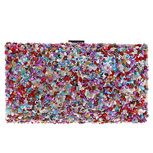 Zanpa Handbag embrayages Multicolore Rhinestone femmes Aq4UZ