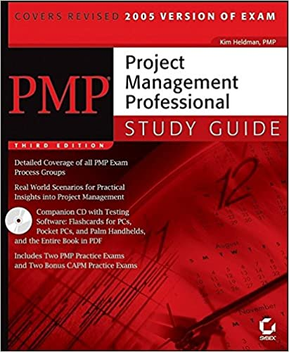 Amazon com: PMP: Project Management Professional Study Guide