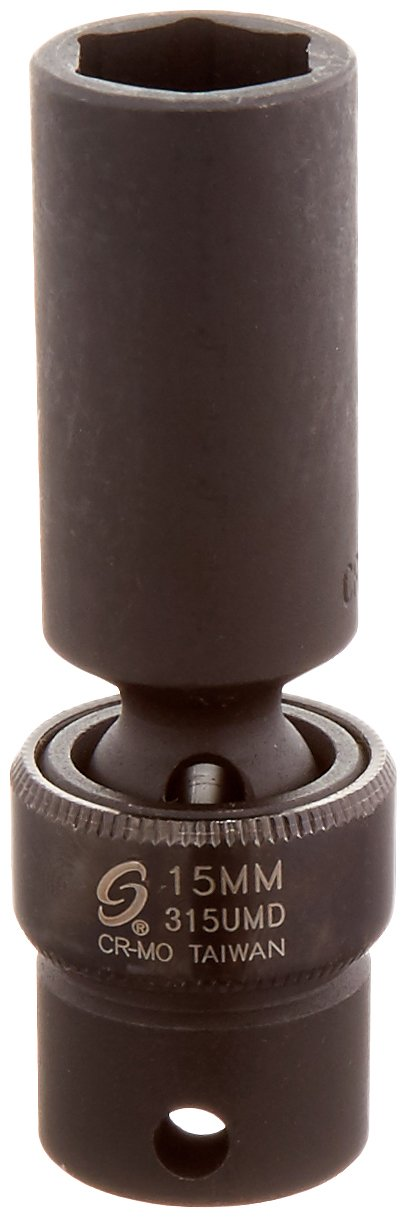 Sunex 315umd 3//8-Inch Drive 15-Mm Deep Universal Impact Socket Sunex International