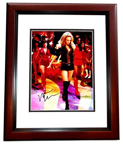 Heather Graham Signed - Autographed Austin Powers - Felicity Shagwell 11x14 Photo - MAHOGANY CUSTOM Frame - Guaranteed to pass PSA or JSA (Felicity Shagwell Austin Powers)