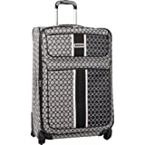 Ninewest Luggage Sign Me Up 28 Inch Expandable Spinner, Black/Ivory, One Size, Bags Central